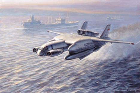 No se trata de un diseño extraterrestre, sino del VVA-14. Fuente: Ronald Wong