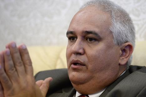 Emilio Losada García,  Embajador Extraordinario y Plenipotenciario de la República de Cuba en Rusia. Fuente: Ria Novosti