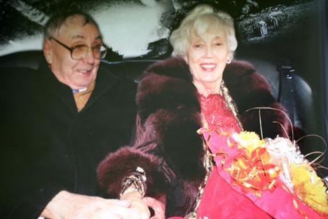 """La pareja se enamoró durante la guerra y se volvieron a encontrar sesenta años después. Fuente: Revista """"Neizvestnaya Sibir"""""""
