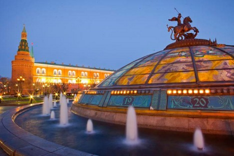 Moscou pode oferecer uma quantidade enorme de aventuras gratuitas Foto: Ricardo Marquina