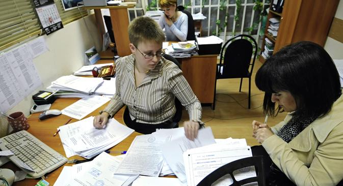 El sistema tributario ruso ofrece más ventajas que el de Occidente. Fuente: Mijaíl Mordásov