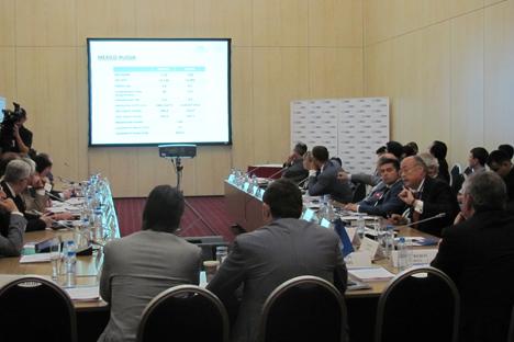 Ayer se celebró en Moscú el IX Foro Anual de Negocios de Rusia. Fuente: Nayeli Ceceña