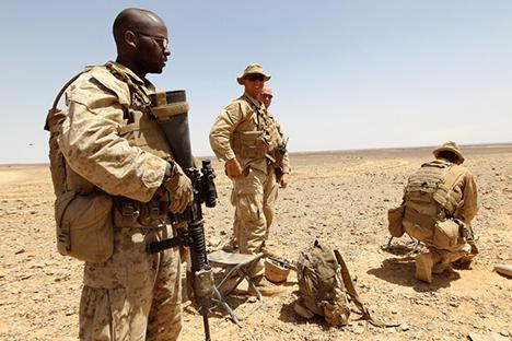 """""""En ese momento habremos pasado, sin duda, a la siguiente fase: el final de todos los intentos pacíficos"""". Fuente: Reuters"""