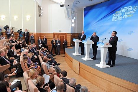 Se destacan los avances producidos en la reciente cumbre celebrada en Ekaterimburgo en relación a la situación en el país árabe. Fuente: Reuters