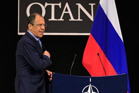 A pesar de los intentos de cooperación entre Moscú y la Alianza Atlántica, el déficit de confianza sigue estando muy presente en la relación bilateral. Fuente: Reuters / Vostock Photo