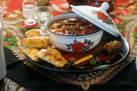 No solo se trata de vodka, caviar negro y arenques... Descubre la auténtica gastronomía del país. Fuente: Stock Food / Photodom