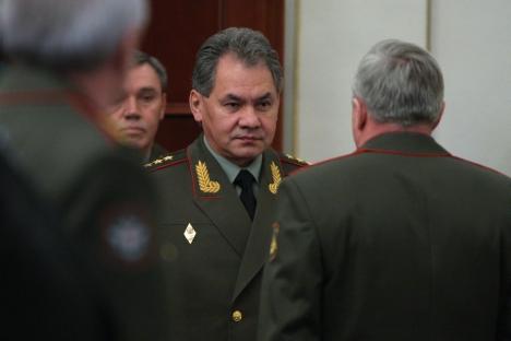 Serguéi Shoigú, el ministro de Defensa de Rusia. Fuente: Ria Novosti