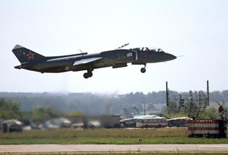 La aeronave estadounidense de aterrizaje vertical y despegue corto posee sus orígenes en una secreta colaboración entre el Yakovlev ruso y el Lockheed Martin estadounidense. Fuente: Ria Novosti