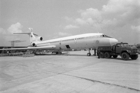 Tupoljev Tu-154.