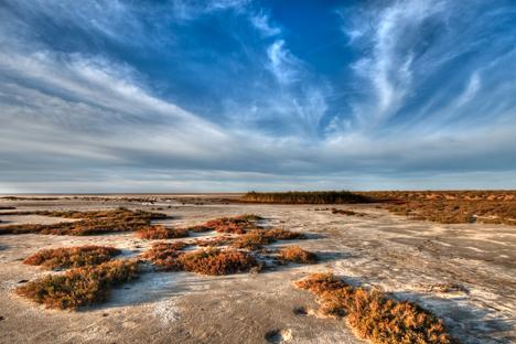 El lago Eltón. Fuente: lori / legion media