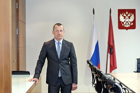 Andréi Sharónov, vicealcalde de Asuntos Económicos de Rusia. Fuente: servicio de prensa del ayuntamiento de Moscú.