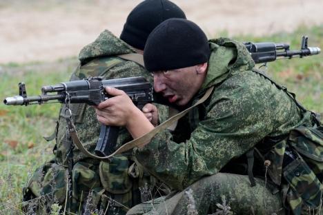 Desde o início do inverno deste ano, todas as seções integrantes das Forças Armadas entraram em manobras com vários graus de complexidade Foto: mil.ru