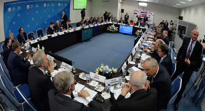 Se trata del acontecimiento empresarial más importante del año en Rusia y en esta ocasión coincide con la presidencia del G20. Fuente: RIA Novosti