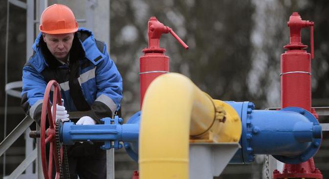 Las bajas temperaturas en el Viejo Continente disparan las ventas de gas y la empresa rusa bate su propios récords. Fuente: Reuters