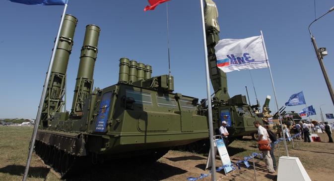 Antey-250. Fuente: ITAR-TASS