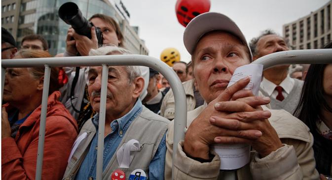 Para los rusos de clase media, el poder adquisitivo está acompañado de suficiente poder político. Fuente: Ruslán Sujushin