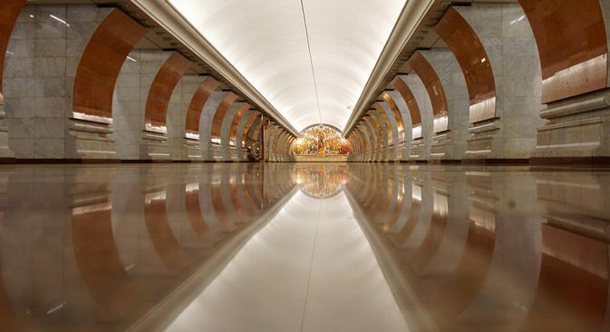 El proyecto de fotografía de Dmitri Berdasov posa cada día su mirada sobre los secretos del famoso subterráneo de la capital rusa. Fuente: Dmitri Berdasov