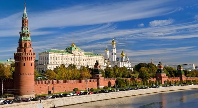 Caminhar pela margem do rio Moscou é uma excelente forma de acessar as várias atrações turísticas da capital Foto: Lori / Legion Media