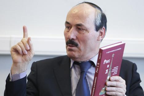Ramazán Abdulatípov, el presidente en funciones de Daguestán. Fuente: PhotoXpress