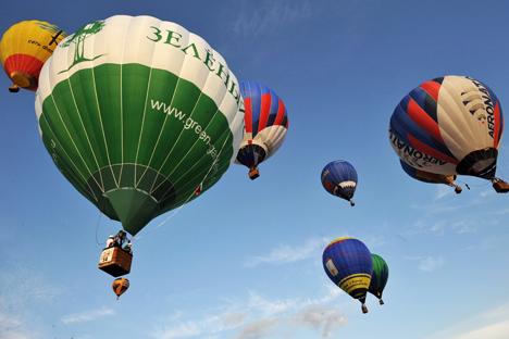 La 'Feria del cielo' reúne a cientos de participantes en un evento espectacular. Fuente: PhotoXpress