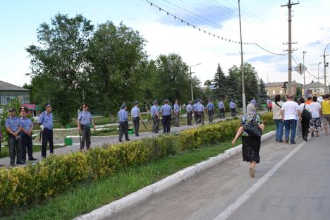 Tensiones étnicas y disturbios en Sarátov tras la muerte de un adolescente en una pelea. Fuente: RIA Novosti