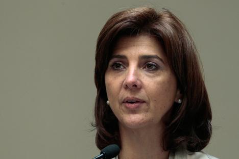 María Ángela Holguín. Fuente: Reuters
