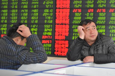 A China está esgotada, como um atleta cansado depois de bater um novo recorde mundial Foto: Reuters