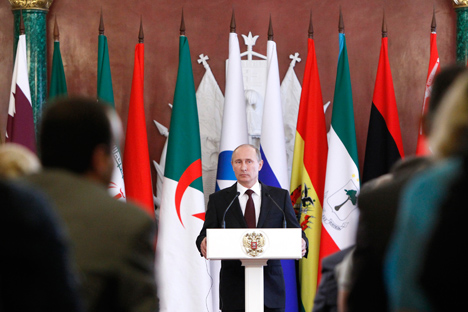 El presidente ruso hace declaraciones contra las exigencias del Tercer Paquete Energético de la UE. Fuente: Reuters