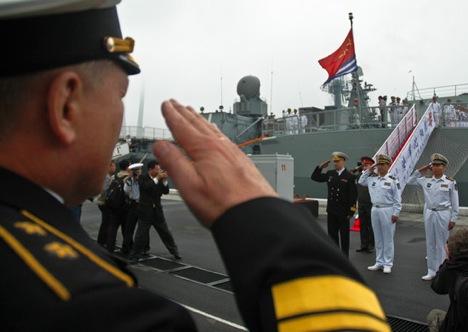 Las relaciones bilaterales pasan por un buen momento y prueba de ello es gran despliegue militar de estos días. Fuente: mil.ru