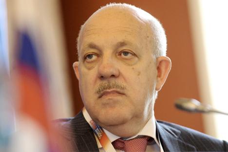 Gueorgui Petrov, el vicepresidente de la Cámara de Comercio e Industria de Rusia. Fuente: ITAR-TASS