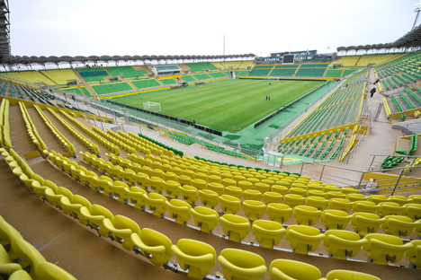 El estadio de Majachkalá. Fuente: Ria Novosti