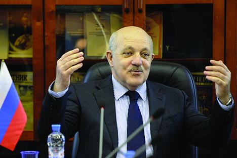 El vicepresidente de la Cámara de Comercio de Rusia, Gueorgui Petrov. Fuente: ITAR-TASS