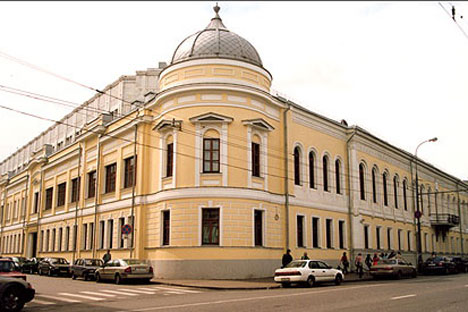 La casa de Volkonsky en la calle Vozdvízhenka (Moscú) que fue construida a finales del siglo XVIII. Fuente: wikimedia