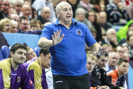 Vladímir Maksimov, entrenador y presidente de los Chejovski Medvedi. Fuente: Imago / Legion Media