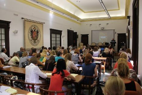 Vista de una de las sesiones del Seminario. Fuente: Elionor Guntin.