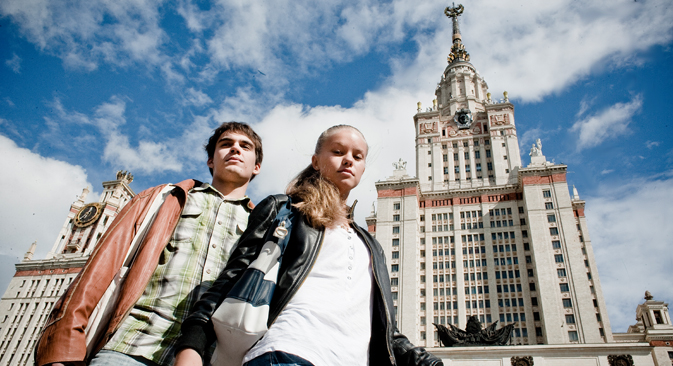 More than 250,000 foreign students from 150 countries are currently enrolled in 750 Russian universities. Source: Kirill Lagutko