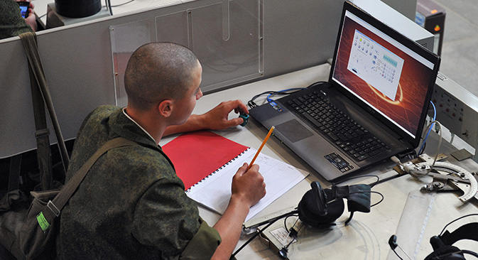 Antes de finalizar el año las fuerzas armadas contarán con nuevas armas para hacer frente a las crecientes amenazas. Fuente: Kommersant