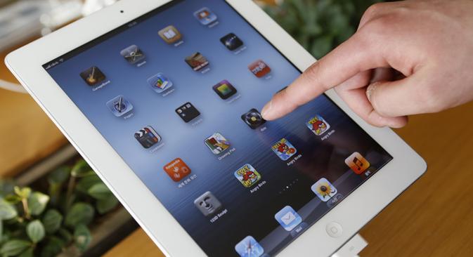 Gazprom planea desarrollar un sistema operativo para el iPad de su directos. Fuente: Reuters