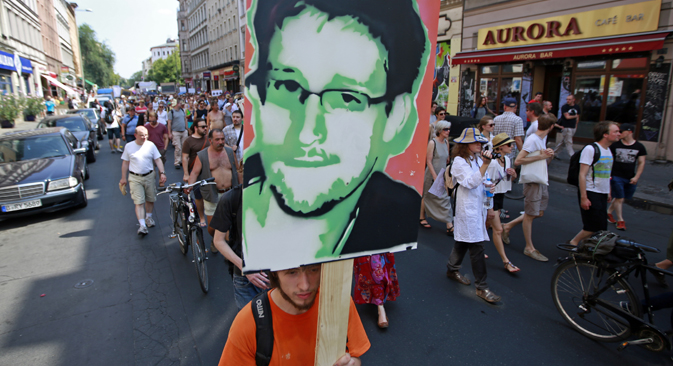 Unos empresarios rusos intentan obtener los derechos de imagen del antiguo colaborador de la CIA. Fuente: Reuters