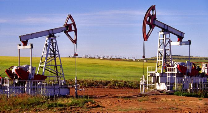 Produção de petróleo em junho passado foi a maior dos últimos 25 anos  Foto: ITAR-TASS
