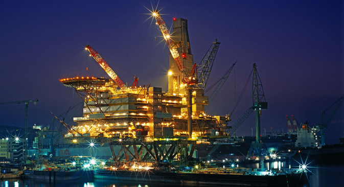 El proyecto Sajalín 2 (Lejano Oriente ruso). Fuente: Gazprom / Press photo