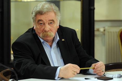 Vladímir Grusman, director del Museo Ruso de Etnografía. Fuente: ITAR-TASS