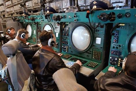 Defensa está sustituyendo las estaciones móviles de transmisores por modernos sistemas llamados Scorpion. Fuente: Ivan Rodnev / Ria Novosti