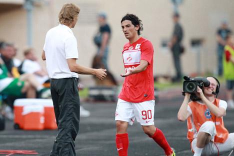 El argentino Tino Costa está brillando en su primera temporada en Rusia. Fuente: Natalia Krasilnikova / PhotoXpress