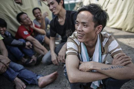 Tras las redadas contra la inmigración ilegal se ha descubierto que cientos de personas trabajaban en condiciones infrahumanas. Fuente: Ria Novosti