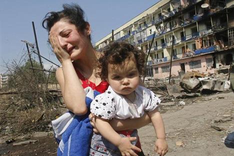 Cinco años después de la guerra no existe un orden público para la mejora de los lazos entre los dos países. Fuente: Reuters