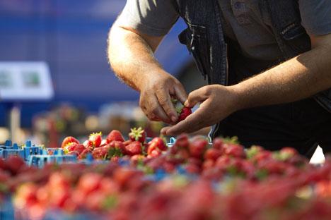 En estos lugares podemos encontrar todavía productos tradicionales soviéticos. Fuente: Reuters