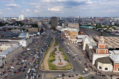 Sobre otro lugar místico de Moscú, la encrucijada y escenario de una maldición que perdura. Fuente: ITAR-TASS