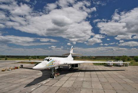 Vista de un avión Tu-160. Fuente: ITAR-TASS.
