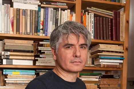 """El escritor Juan Bonilla celebra la vida del poeta en su última novela, """"Prohibido entrar sin pantalones"""". Fuente: Manuel Olmedo Rangel"""
